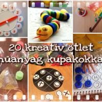 20 kreatív ötlet műanyag kupakokkal