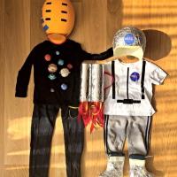 Halloween jelmez két gyerekre - Naprendszer és Űrhajós